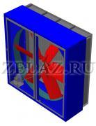 Вентиляторы осевые ВО 10-410 №12,5 - фото
