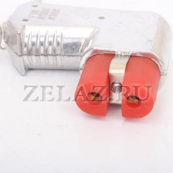 Разъем (ZA 729 Si) двухконтактный термостойкий - фото 3