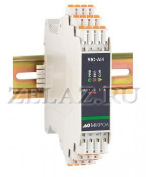 Модуль аналогового ввода RIO-AIU8 - фото